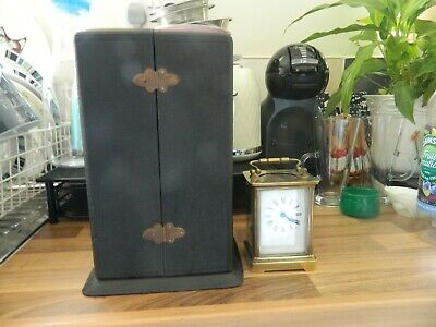 Large Clock Case Half Moon In Shape Might Suit 4 Glass Pendulum Clock