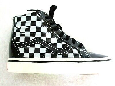 Vans Shoes Ceramic Off The Wall Sk8-Hi Collectible Piggy Bank Checkerboard NR