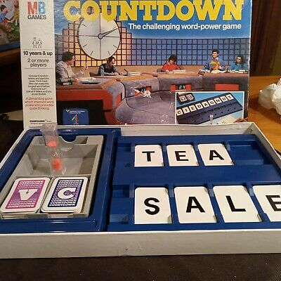 Countdown. Vintage Family Board Game? Complete