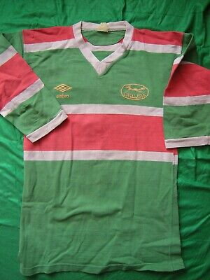 CARLISLE RUGBY LEAGUE AUTHENTIC GENUINE VINTAGE 1980s MATCH WORN AWAY SHIRT