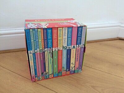 Roald Dahl Book Box Set 15 Books Phizz-whizzing Collection