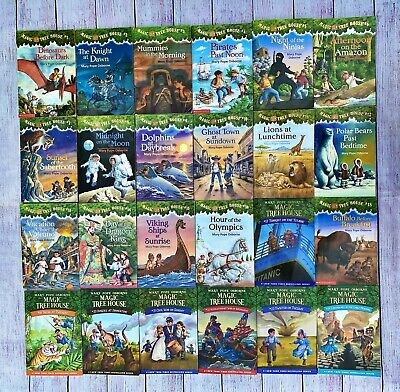 Magic Tree House Book Lot By Mary Pope Osborne Books 1-24 AR Homeschooling