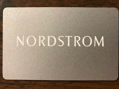 Nordstrom Gift Card $50.00 Value. Free Shipping!