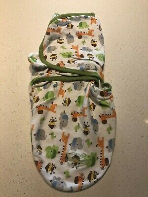Summer Swaddle Small (7-14 pounds) Jungle Animals