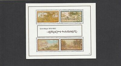 (50001) South Africa Ericch Mayer minisheet 1976 unmounted mint
