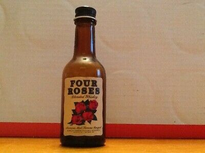 Four Roses Whisky Miniature 1/10 Pint Empty