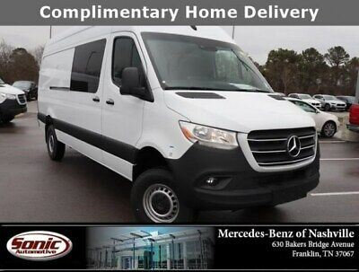2019 Mercedes-Benz 4x4 Sprinter CREW Van 2500 High Roof V6 170 4WD EVERY TYPE SPRINTER AVAILABLE, BEST VALUE