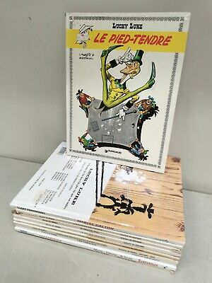 LUCKY LUKE  . lot de 10 BD Bandes dessinées