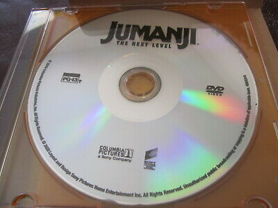 JUMANJI THE NEXT LEVEL DVD, 2020 Disc only THE ROCK NEW Release FREE SHIP