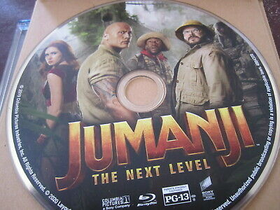 JUMANJI THE NEXT LEVEL BLURAY, 2020 Disc only THE ROCK NEW Release FREE SHIP