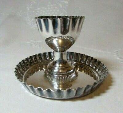 Silverplate Egg Cup by Marshall, Scotland, Vintage