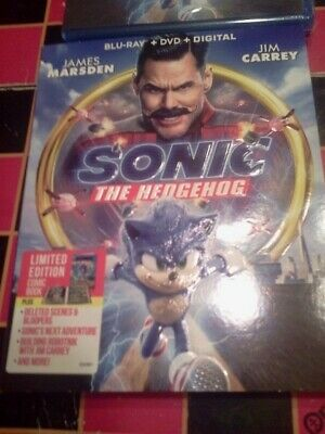 Sonic The Hedgehog 2020 Blu-ray Dvds