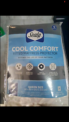 KING/CAL KING Sealy Cool Comfort fitted mattress protector