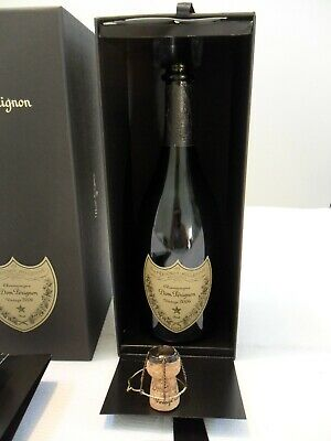 Dom Perignon Champagne Vintage 2006 Empty Bottle with Display Box and Brochure