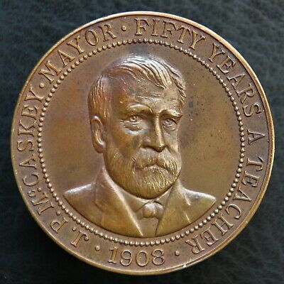 1908 J.P. McCaskey 50th Anniversary - Unlisted So-Called Dollar HKu-184