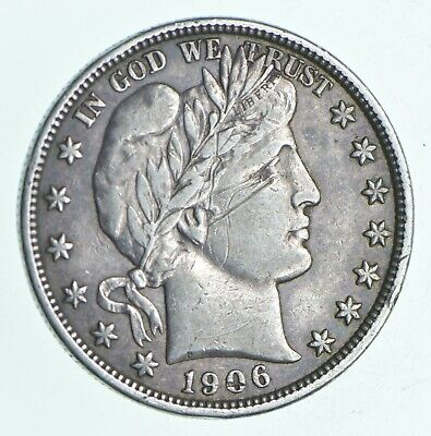 1906-D Barber Half Dollar - Charles Coin Collection *234