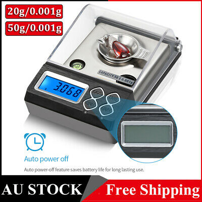 High Precision Professional Digital Milligram Scale 20g/50g 0.001g Digital Scale