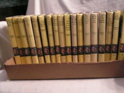 18  Volumes Of Nacy Drew Mystery Stories Book