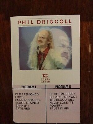 Phil Driscoll-10 Years After-cassette tape