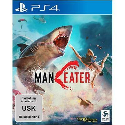 Deep Silver - Maneater Day One Edition (ps4) [DE-Version] Playstation Deep  NEW