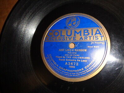 Early 20s COL.78/The Columbians-Dance Orchestra De Luxe