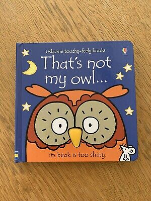 Thats Not My Owl Board Book