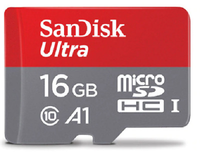 SanDisk Micro SD Card 16GB Memory Card C10 U1 A1 Flash TF micro sd card