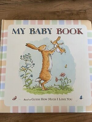 "My Baby Book Keepsake - Based on ""Guess How Much I Love You"""