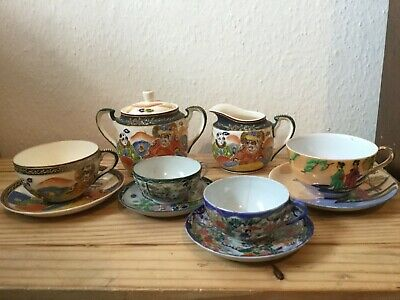 Mixed Lot Of Japanese  Crockery, 3 Piece Set And Others
