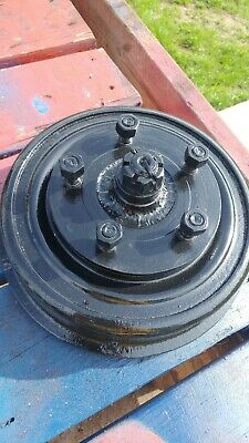 Vintage Studebaker 1951 brake drum car part rear