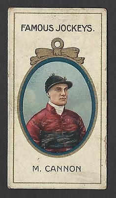 Taddy - Famous Jockeys (With Frame) - M Cannon