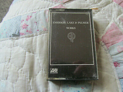 emerson lake and palmer cassette