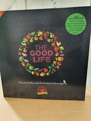 The Good Life Board Game - Family Games for Adults and Kids brand new and sealed