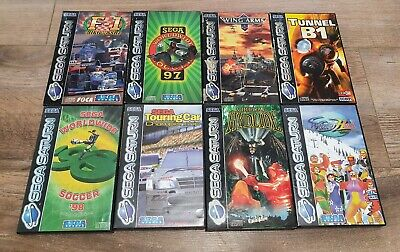 Job Lot of 8 Sega Saturn PAL Games (All Boxed & Complete, Some Rare!)