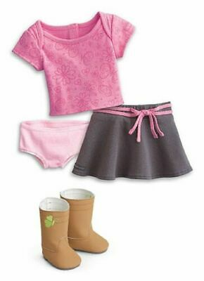 American Girl Doll True Spirit Outfit--New In Clear Package Boots Saige