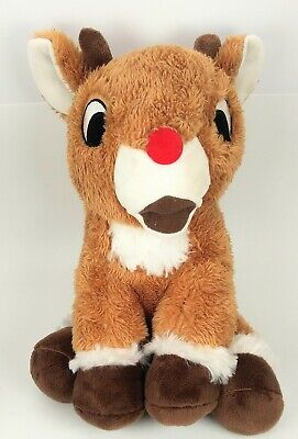 Kohls Cares Christmas Rudolph the red nosed reindeer plush stuffed animal