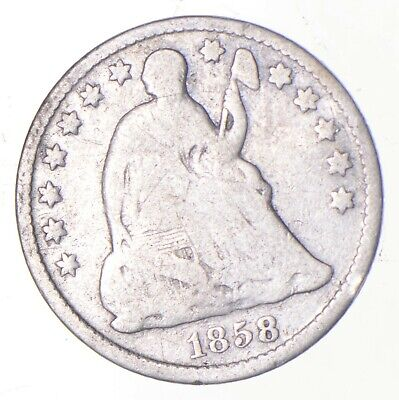 5c *1/2 Dime HALF* 1858-O Seated Liberty Half Dime Early American Type Coin *242