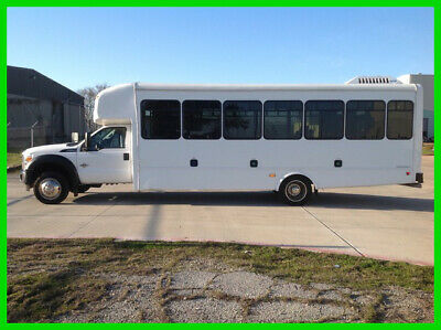 2016 Ford F-550 Chassis Starcraft Diesel 26 Passenger Bus Wheel Chair Lift 2016 Starcraft Diesel 26 Passenger Bus Wheel Chair Lift Used Automatic Rear