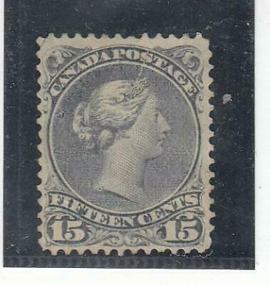 CANADA # 29 VF--MH 15cts LARGE QUEEN CAT VALUE $80