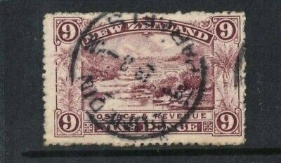 1898 New Zealand 9d Terraces Good Used