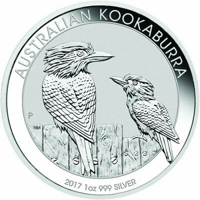 2017 Silver One Ounce Oz Australia Kookaburra Bullion