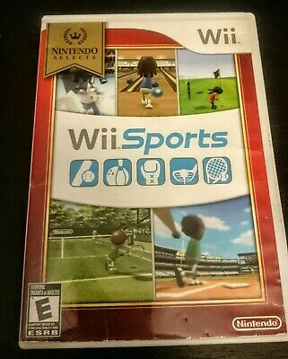 Wii Sports, Nintendo Selects No Manual (Wii, 2006)