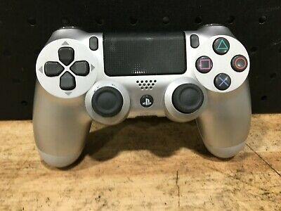 Genuine Ps4 Dualshock 4 Silver Playstation4 Sony Controller ( Cuh-Zct2E)