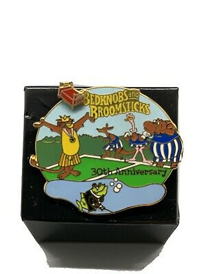 Disney Pin Bed Knobs And Broomsticks 30th Anniversary LE3500 2001