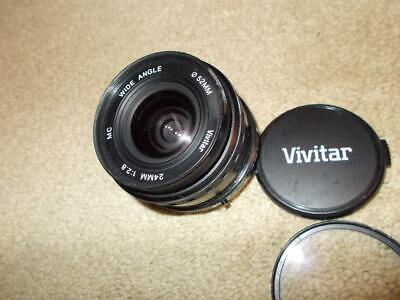 Vivitar MC 24mm 1:2.8 Wide Angle Lens