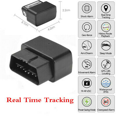 Auto Car GPS GPRS Locator Tracker Real Time Tracking Device App Voice Monitor