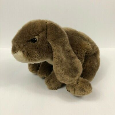"""Animal Alley Toys R Us Easter Bunny Rabbit Brown Heavy Realistic 14"""" Soft Unique"""