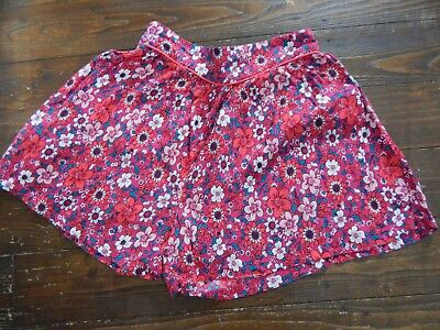 TU Girls Pink Floral Shorts Age 14 years