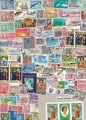 British Commonwealth Collection/Accumulation 500++ Mint Stamps