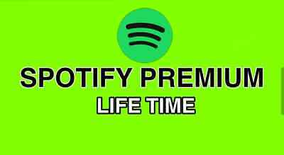 Spotify Premium Lifetime + With 1 Year guarantee Worldwide Instant Delivery ✅